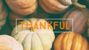 Thankful for you! | Onrivet
